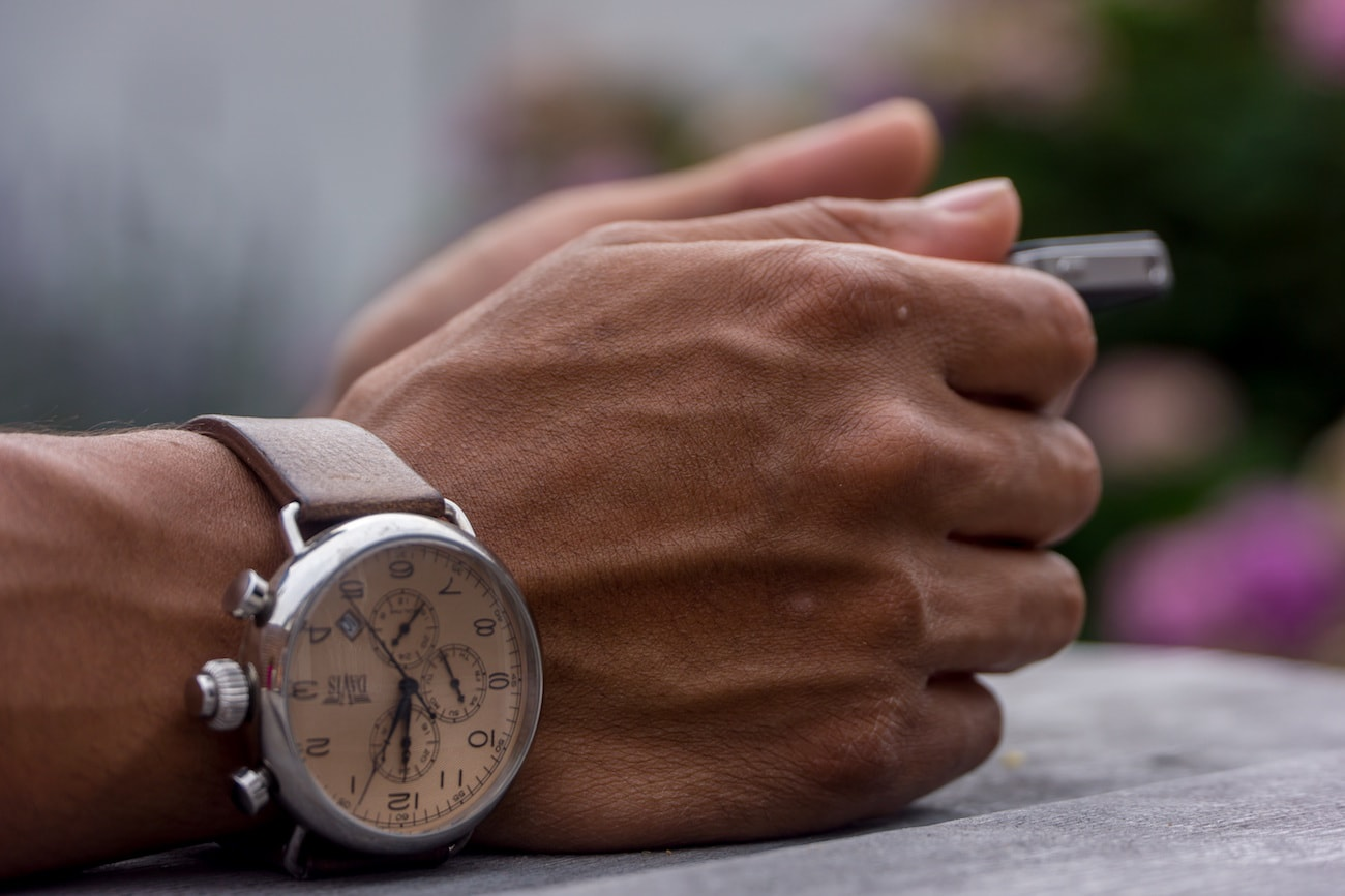 godly men use time effectively integrity watch image