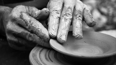 potter clay good sovereign God