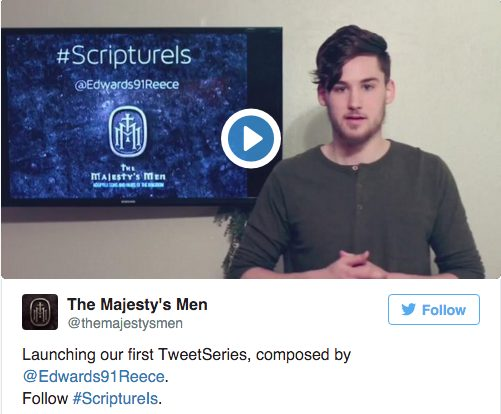 scripture is tweet series reece edwards