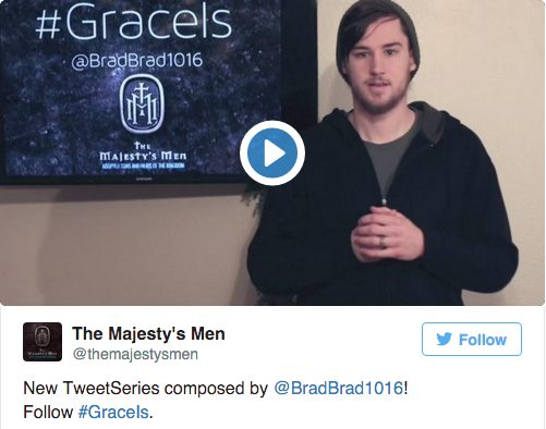 GraceIs Tweet Series Recap The Majesty's Men