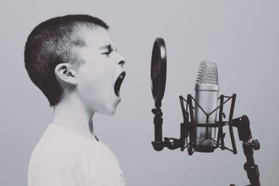 social media boy man shout hope peace joy boy shouting microphone image