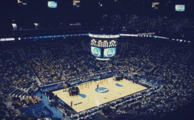 men superior to women basketball court image