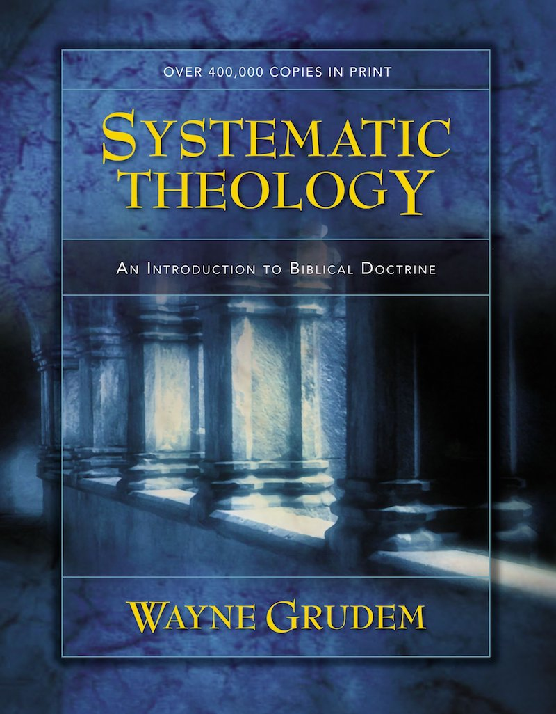 systematic theology wayne grudem bible doctrine cover image