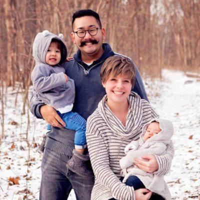 Jonathan Hayashi Family Photo