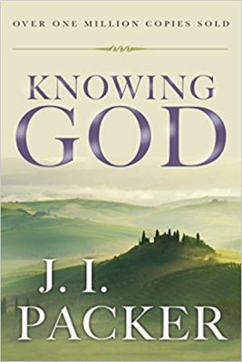 Knowing God by J.I. Packer book cover
